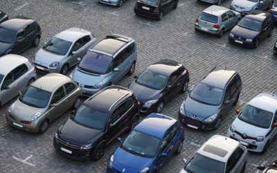 Schulparkplatz